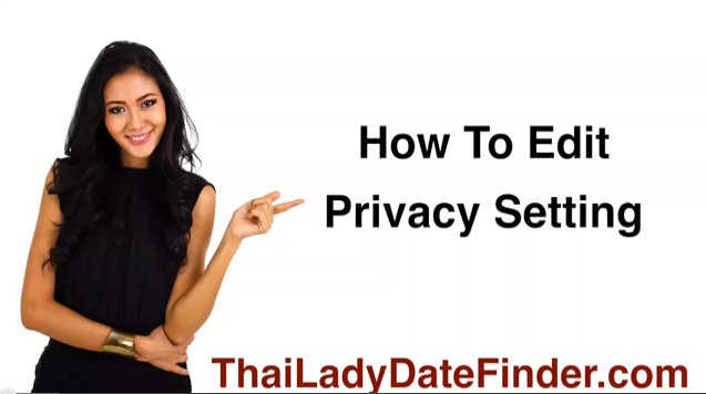 How To Edit Privacy Setting