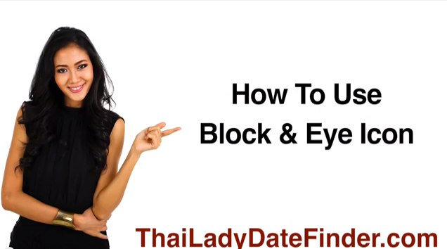 How To Use Blocked & Eye Icon